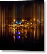 Marine At Night Metal Print