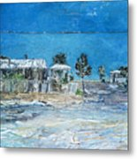 Marree Village Metal Print