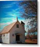 Marsh Berea Church Metal Print