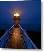Marshall Point Light Station Metal Print