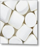 Marshmallows Metal Print