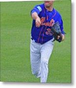 Matt Harvey New York Mets Metal Print