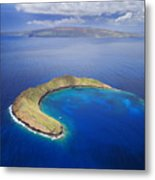 Maui, View Of Islands Metal Print