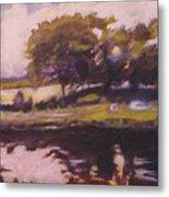 Mayo Landscape Metal Print
