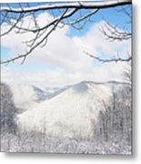 Mcguire Mountain Overlook Metal Print