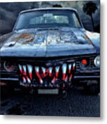 Mean Streets Of Belmont Heights Metal Print