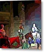 Medieval Times Dinner Theatre In Las Vegas Metal Print
