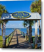 Melbourne Beach Florida Metal Print