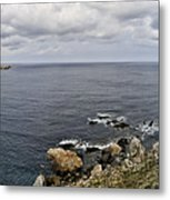 Menorca North Shore From Mongofre Metal Print