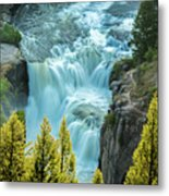Mesa Falls - Yellowstone Metal Print