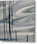 Mesmerized Metal Print