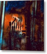 Message 3 Metal Print