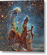 Messier 16, The Eagle Nebula In Serpens Metal Print
