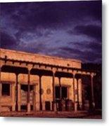 Mexican Cantina Rio Lobo Set Old Tucson Arizona 1970-1980 Metal Print