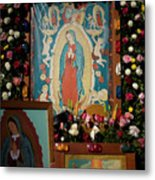 Mexico Our Lady Of Guadalupe Pilgrimage Metal Print