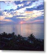 Miami Sunrise Metal Print