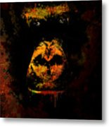 Mighty Gorilla Metal Print