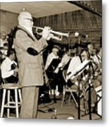 Mike Vax Professional Trumpet Player Photographic Print 3772.02 Metal Print
