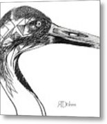 Miracle Bird Metal Print