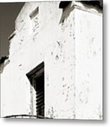 Mission Stucco Building Metal Print
