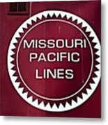Missouri Pacific Lines Metal Print