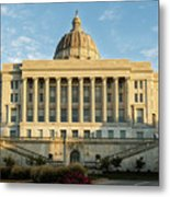 Missouri State Capital Metal Print
