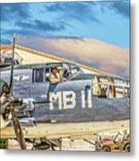 Marine Mitchell B-25 Pbj  Metal Print