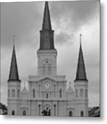 Model Church Metal Print
