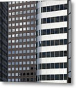 Modern High Rise Office Buildings Metal Print by Roberto Westbrook
