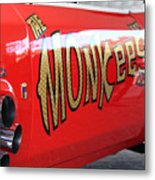Monkeemobile Metal Print