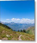 Montana-glacier National Park-highline Trail Metal Print