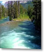 Montana River Metal Print