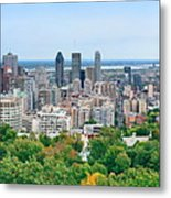 Montreal Day View Panorama Metal Print