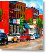 Montreal Paintings Metal Print