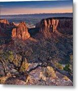 Morning At Colorado National Monument Metal Print