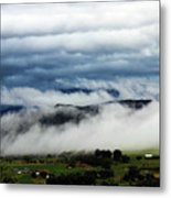 Morning Fog 2 Metal Print