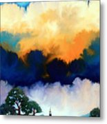 Morning In The Hill Country Metal Print