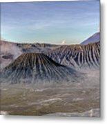 morning light Mount Bromo - Java Metal Print