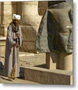 Mortuary Temple Of Rameses II Metal Print