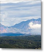 Mosquito Range Mountains In Storm Clouds Metal Print