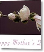 Mothers Day Card Metal Print