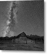 Moulton Barn Milky Way  Metal Print