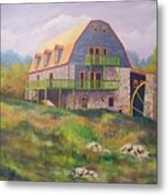 Mountain Mill Metal Print