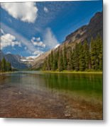 Moutain Lake Metal Print