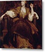 Mrs. Siddons As The Tragic Muse Metal Print
