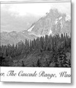 Mt. Baker, Cascade Range, Late Afternoon Metal Print