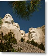 Mt Rushmore II Metal Print