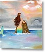 Mysteen The Mystical Queen Of The Sea Metal Print