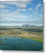 Beautiful Myvatn, Iceland Metal Print