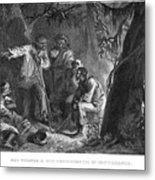 Nat Turner (1800-1831) Metal Print